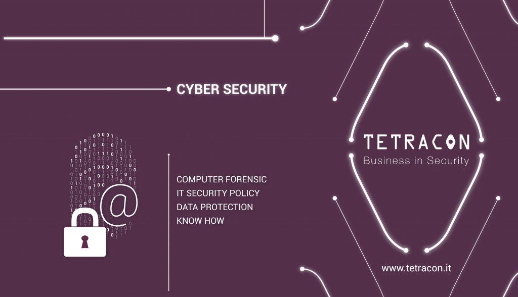 """WORKSHOP – TETRACON: """"LA CYBER SECURITY NEL CONTESTO AZIENDALE"""""""